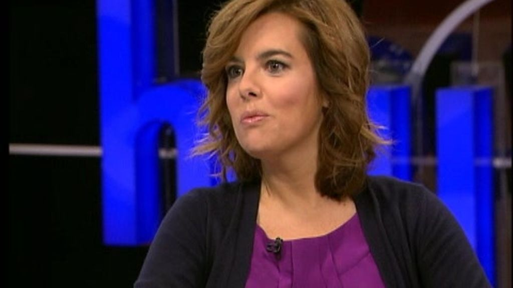 Iñaki Gabilondo entrevista a Soraya Sáenz de Santamaría