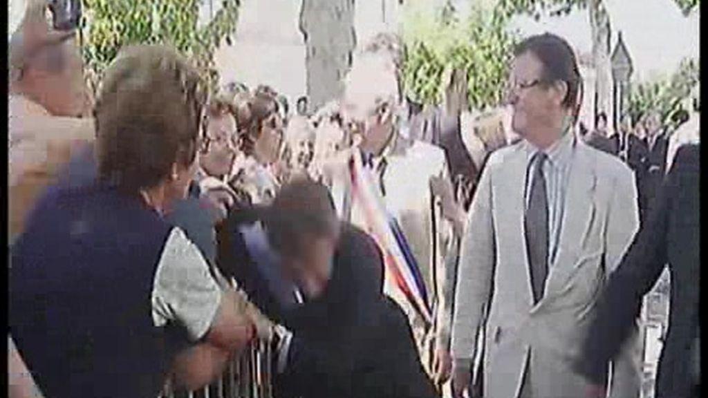 Agreden violentamente a Sarkozy