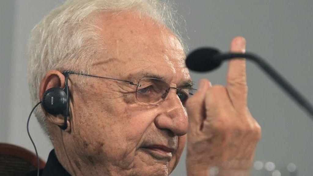 Gehry se enfada con un periodista que le pregunta de la arquitectura espectáculo