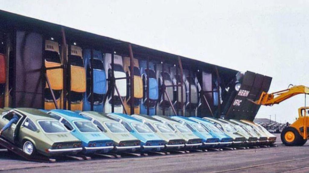 Transporte de Chevrolet Chevy, los coches más vendidos en 1971