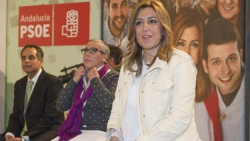 Susana Díaz en un acto socialista en Granada