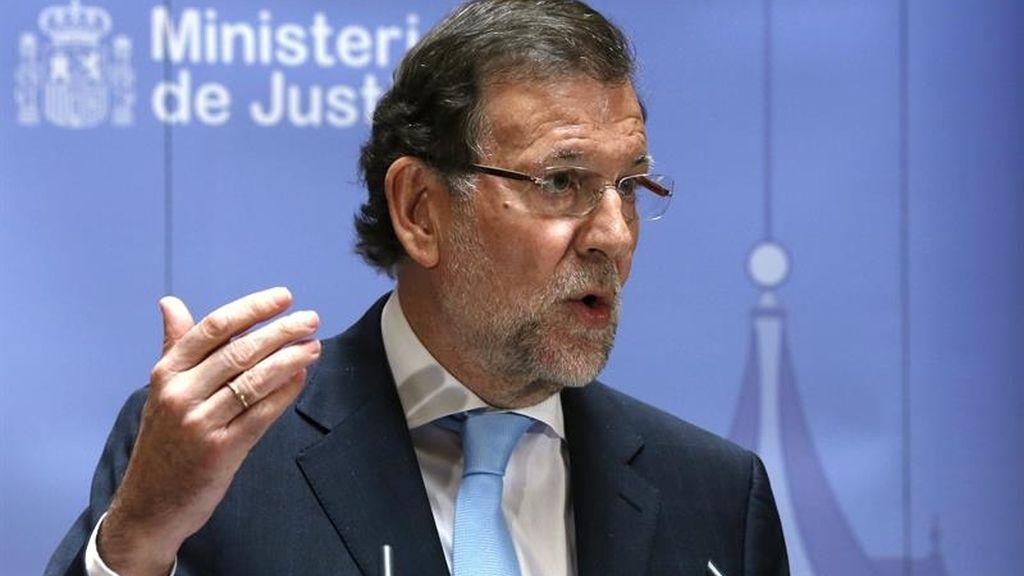 El presidente del Gobienro, Mariano Rajoy, inaugura la Oficina de Recuperación de Activos