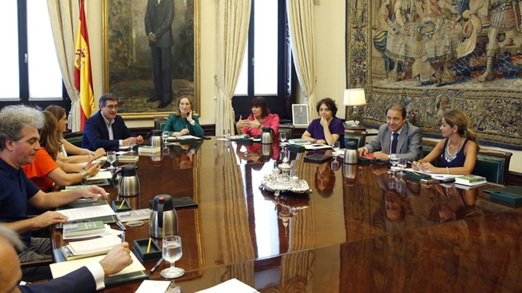 Reunión de la Mesa del Congreso de los Diputados