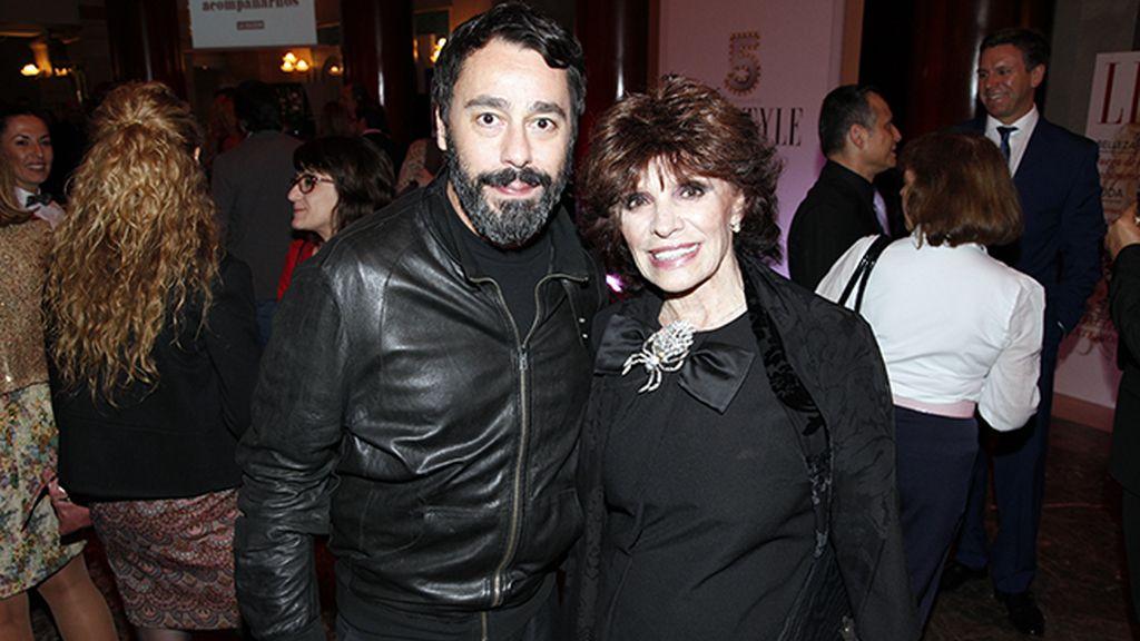 Juanjo Oliva y Encarnita Polo