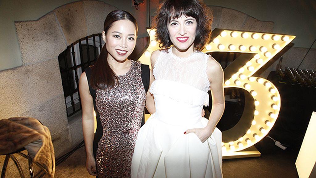 Usun Yoon y Ana Turpin