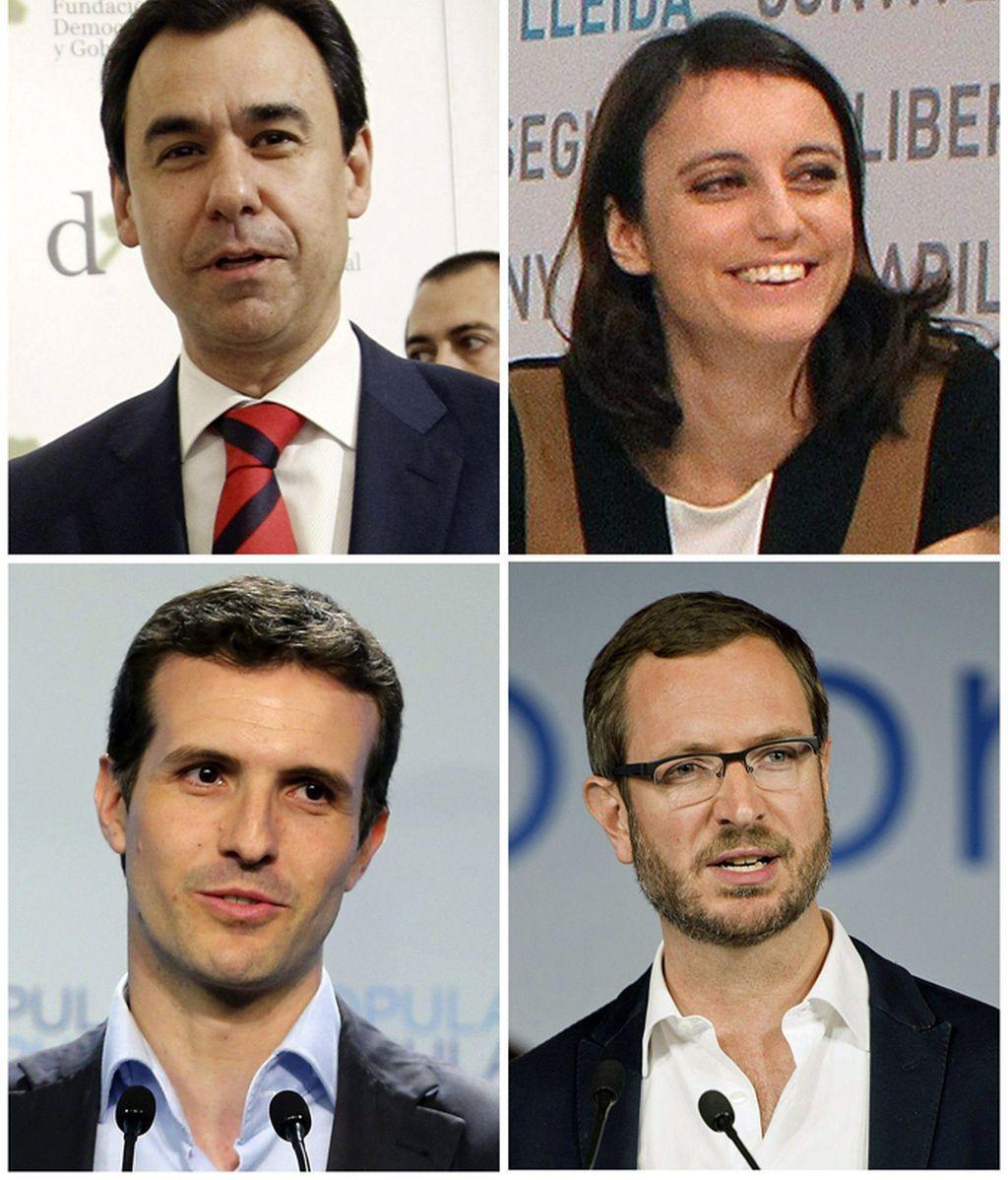 Nuevos vicesecretarios del PP