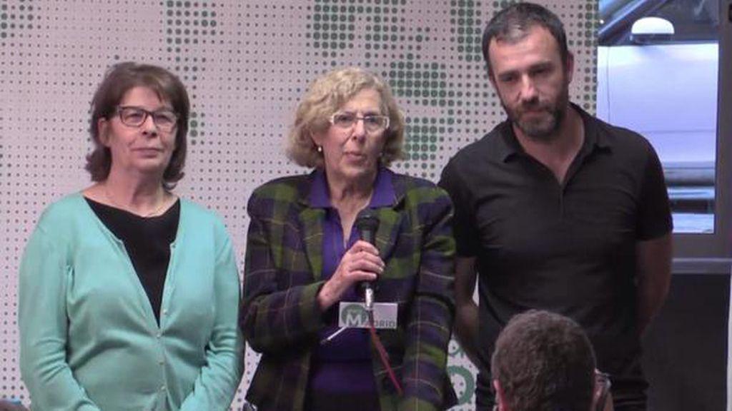 Manuela Carmena gana las elecciones de Ahora Madrid para la alcaldía de la capital