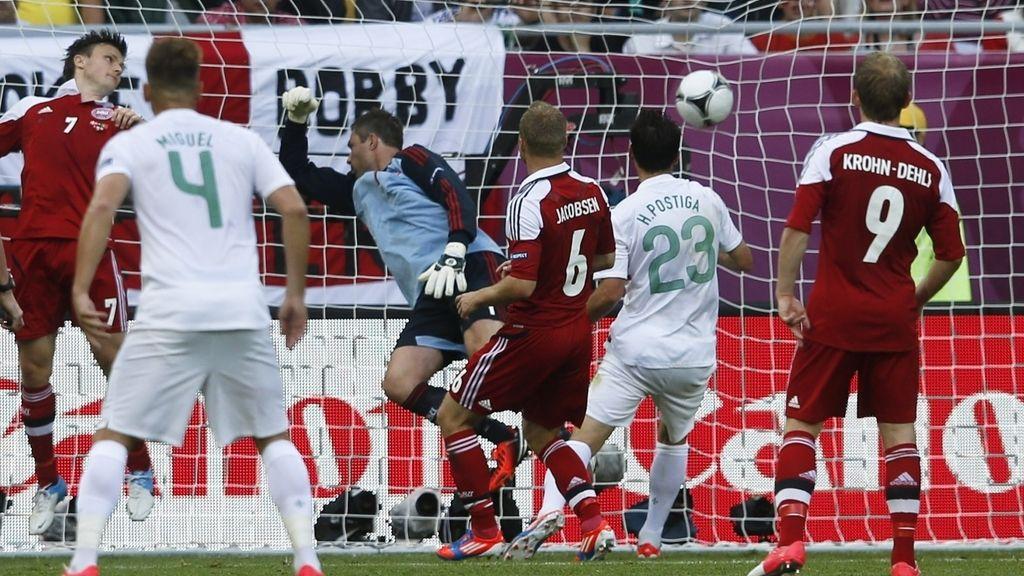Daneses y lusos se citan en el segundo partido