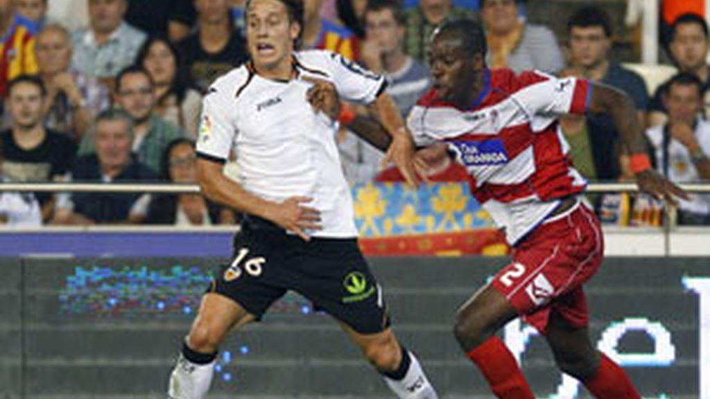 El Granada bajó los brazos con el tempranero gol de Canales FOTO: REUTERS