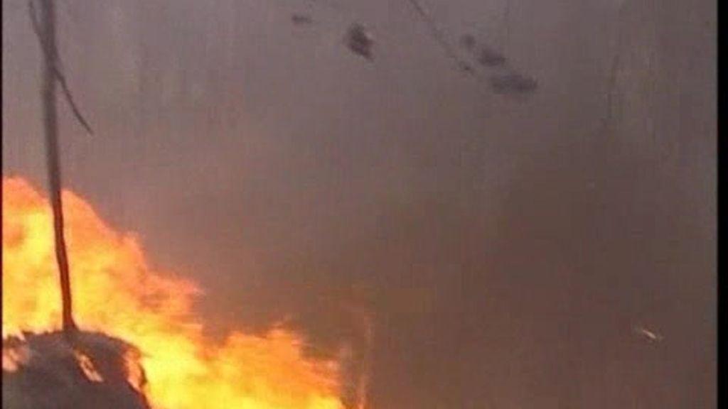 Portugal, arrasado por los incendios