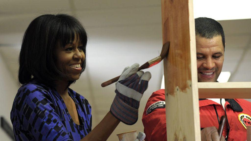 La carpintera de la Casa Blanca