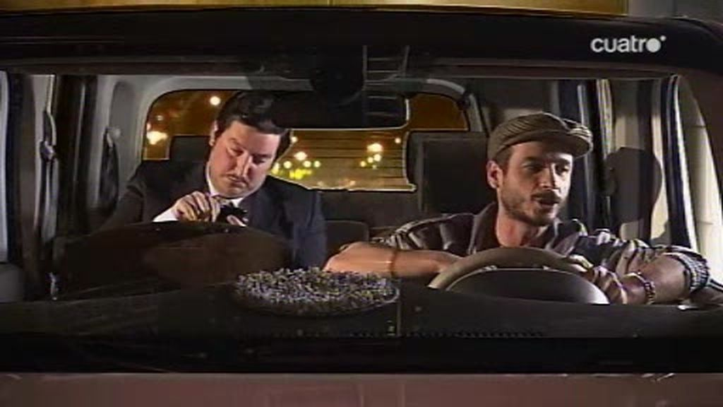 Jasús Calleja comprueba en UAU lo que el volcán ha provocado en el mundo del taxi