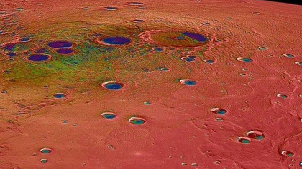 Mercurio como nunca antes se había visto