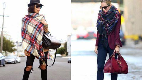 moda mejor valorada buen servicio sin impuesto de venta Diario del 'it' bufandón de cuadros también llamado bufanda ...