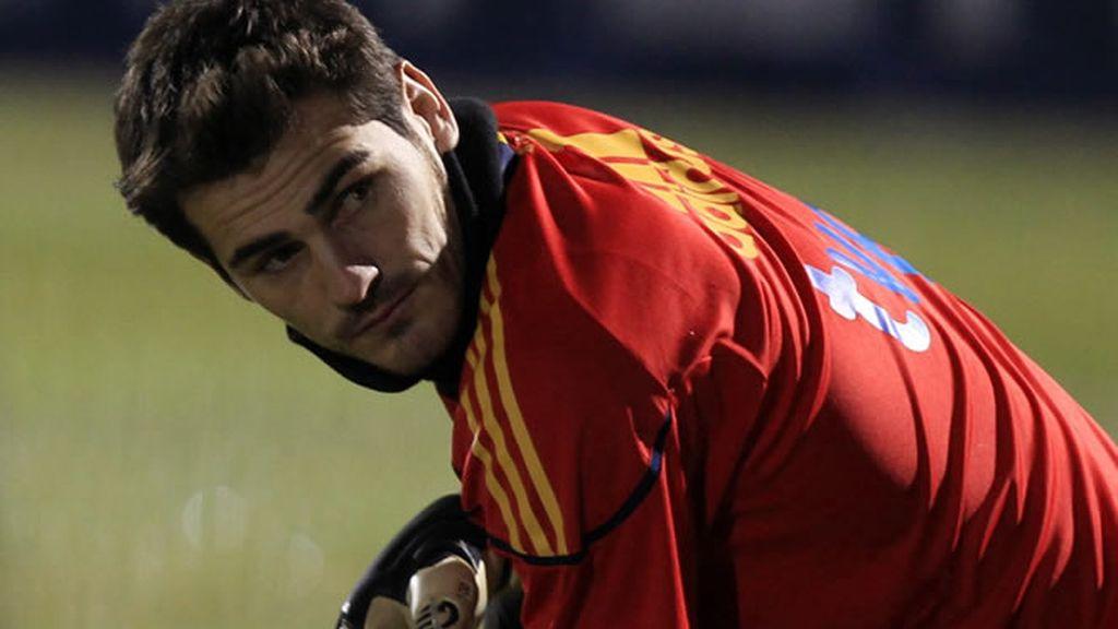 Casillas habla de 'La Roja'