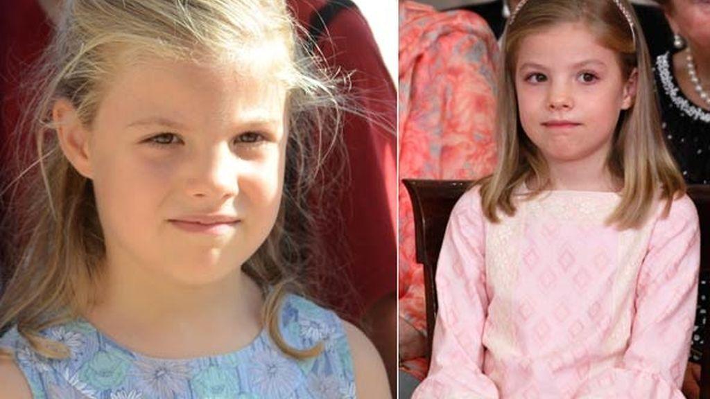 La infanta Sofía cumple ocho años