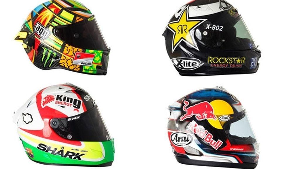 Así son los nuevos cascos de MotoGP™