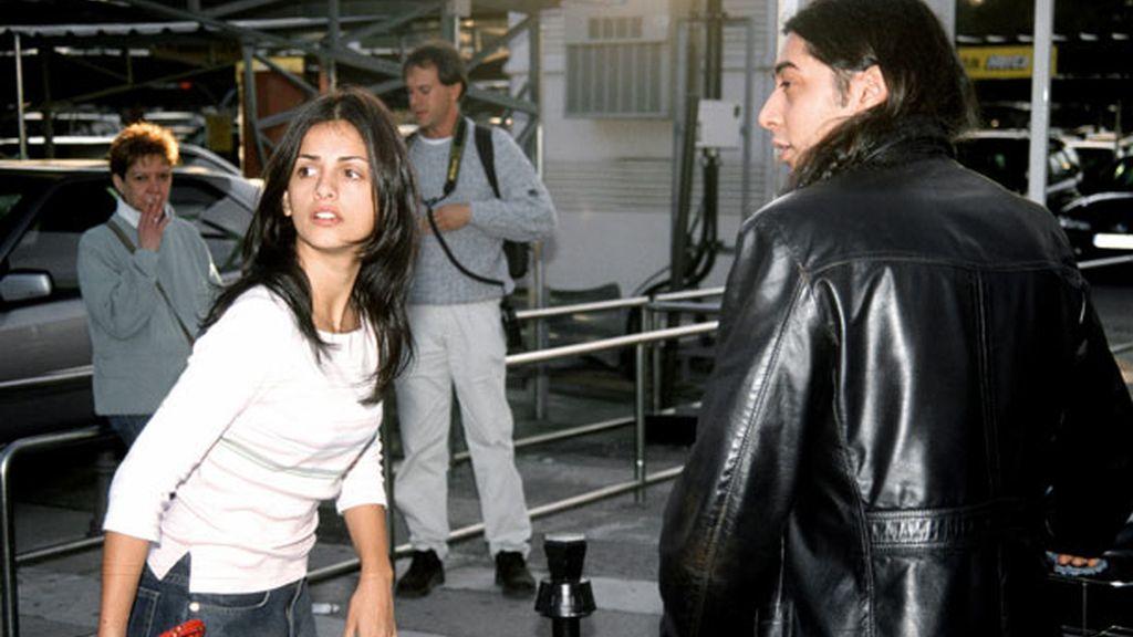 Mónica Cruz y José
