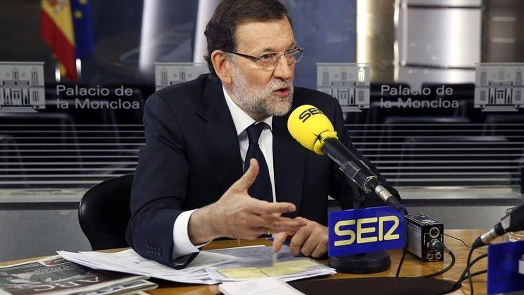 Mariano Rajoy habla de Aznar