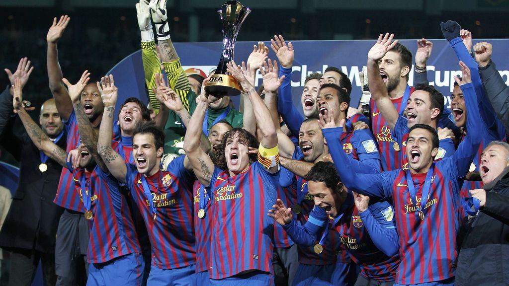 Dos goles de Messi, Xavi y Cesc