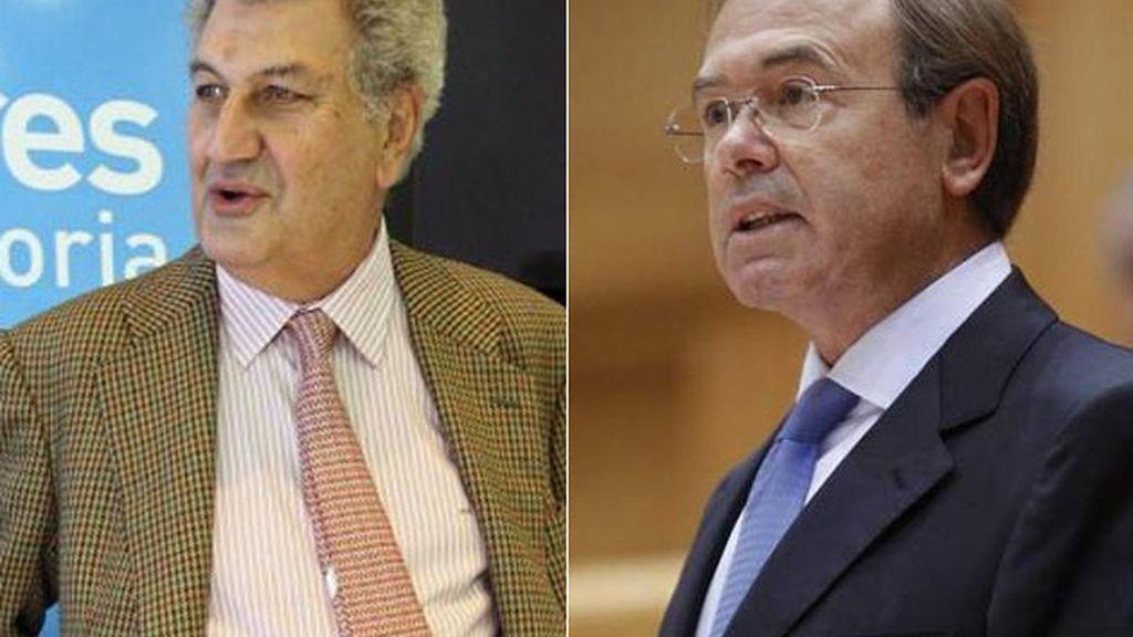 Jesús Posada, nuevo presidente del Congreso y Pío García Escudero, del Senado