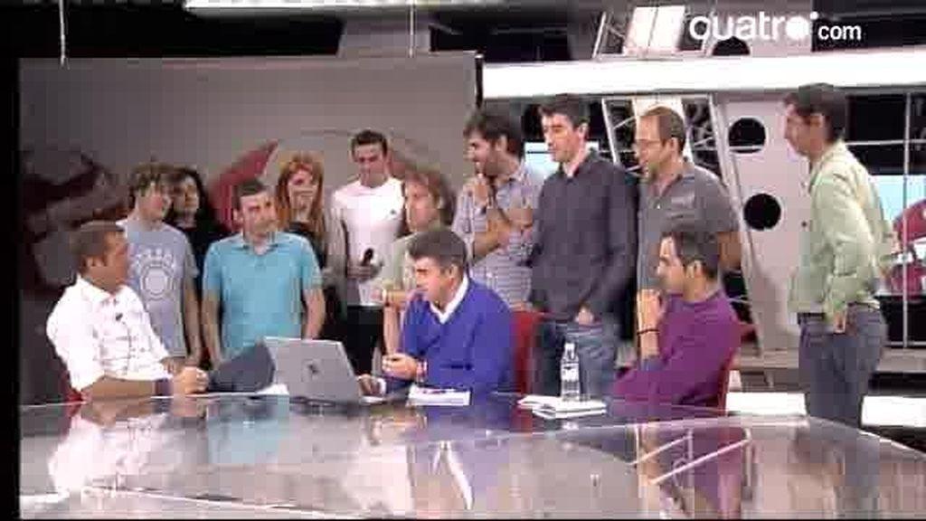 Videochat Los Manolos 25 de octubre 2010 (2 de 3)