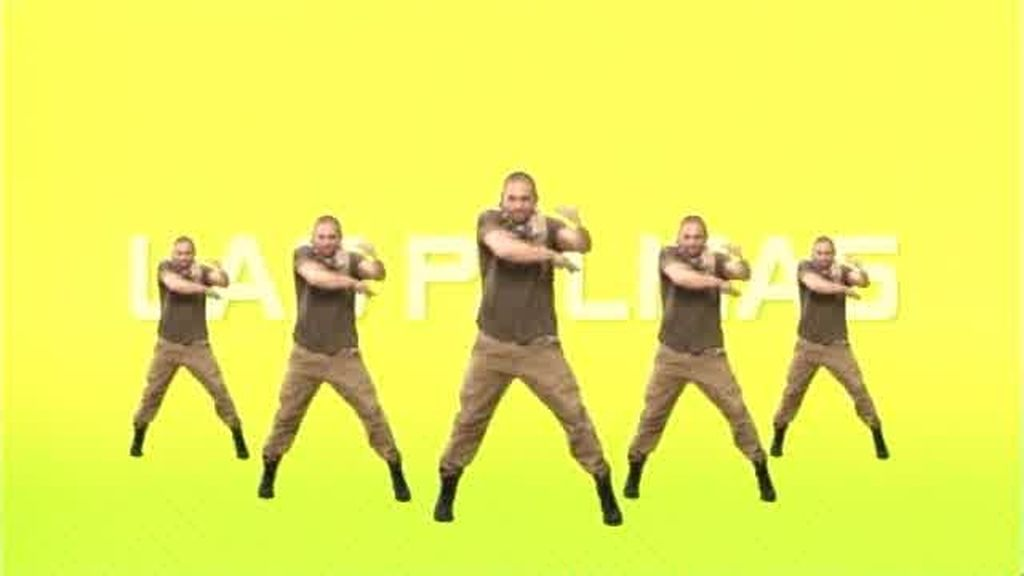 Coreografía del flashmob de Las Palmas