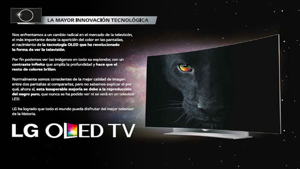 LG OLED, el mejor televisor de la historia