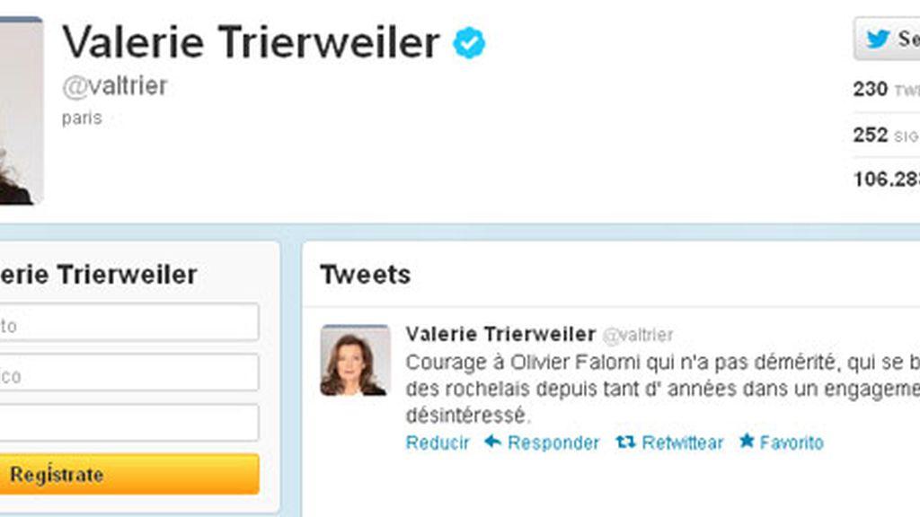 Un periodista italiano se atribuye la suplantación de la cuenta de Twitter de la pareja de Hollande