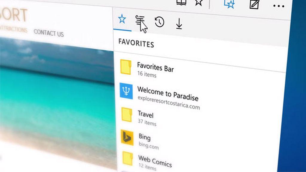 Microsoft Edge, navegador de Microsoft