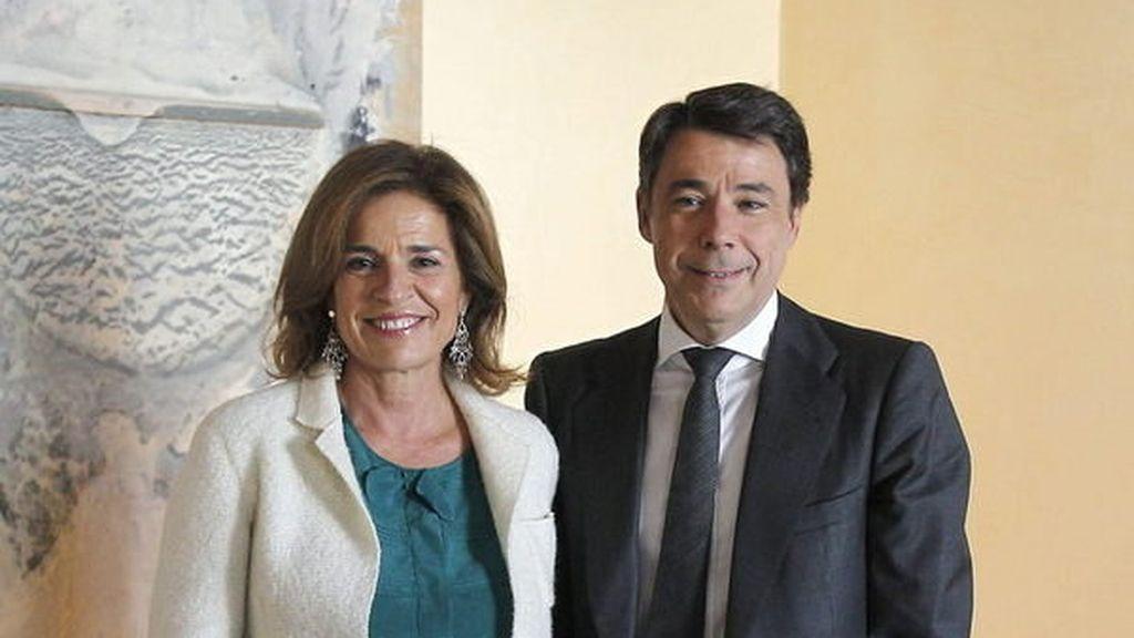 Imagen de archivo de Ignacio González y Ana Botella