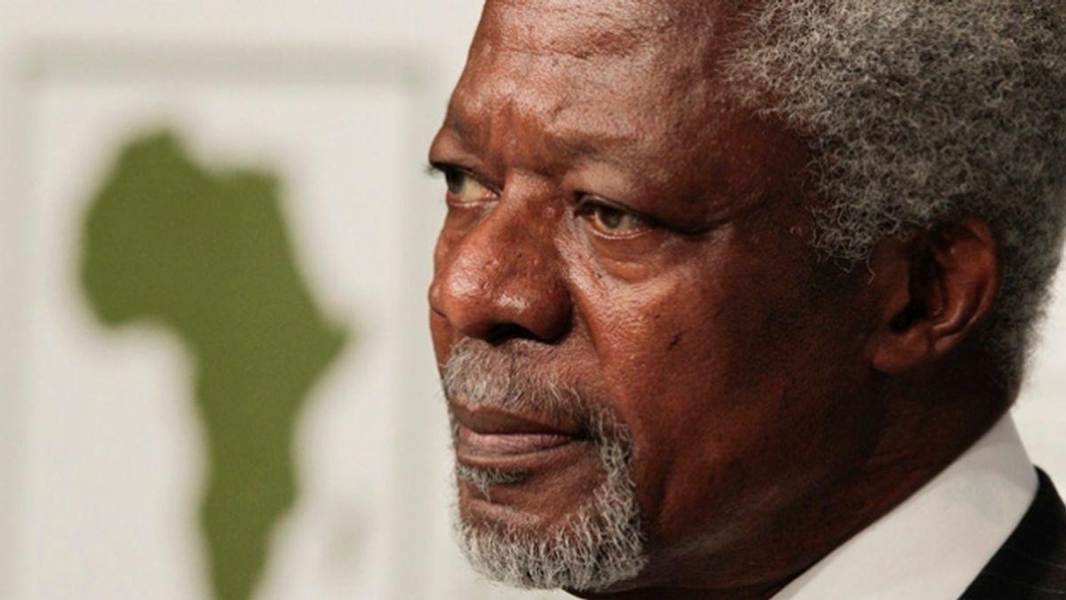 Kofi Annan, enviado especial de la ONU a Siria (EFE)