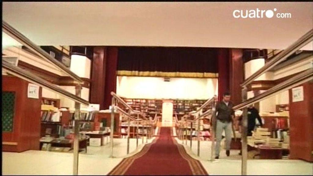 Un antiguo teatro convertido en librería