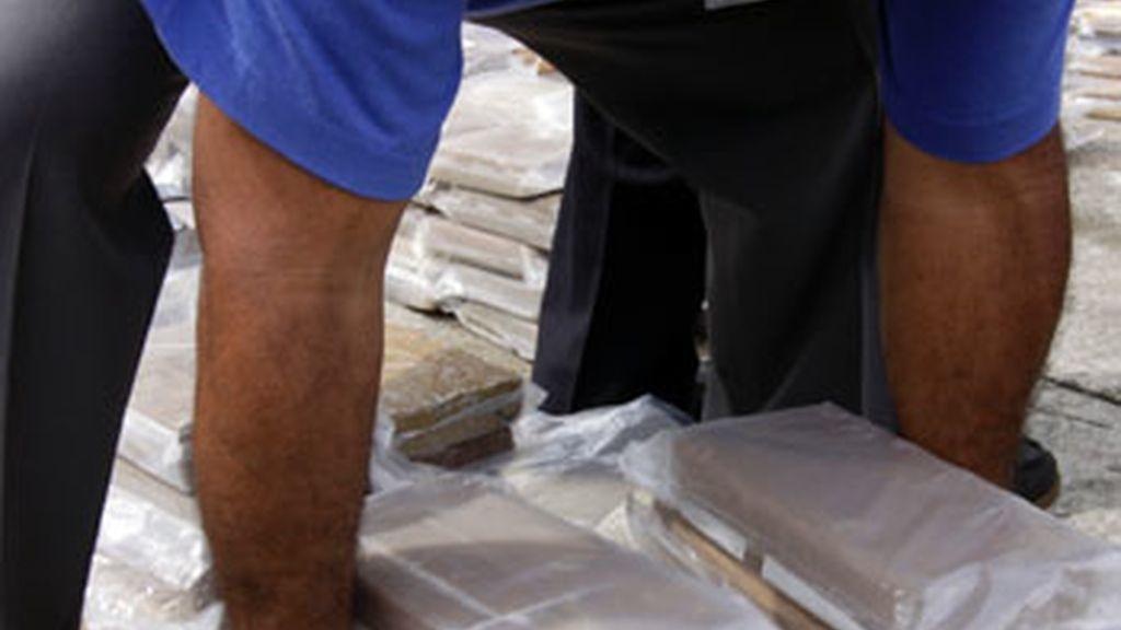Nueve detenidos y más de 600 kilos de hachís incautados a una red de narcotraficantes en Cádiz