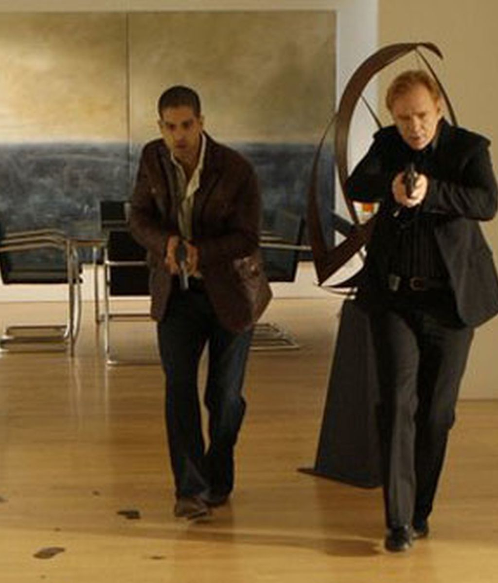 Caine y Delko investigan un rocambolesco asesinato