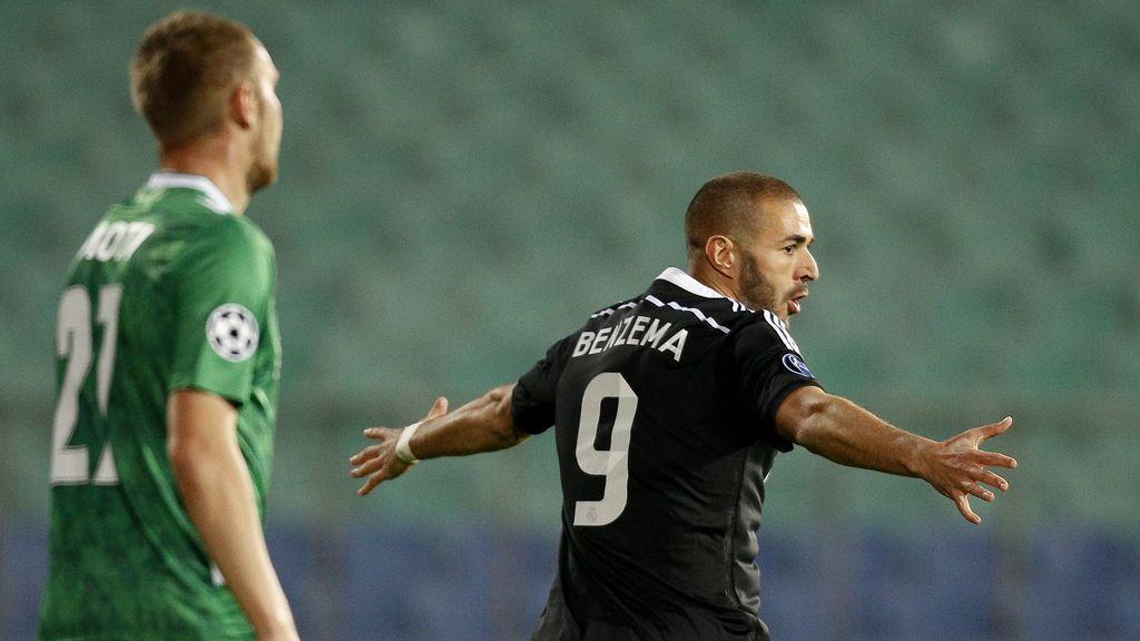Benzema rescata al Madrid