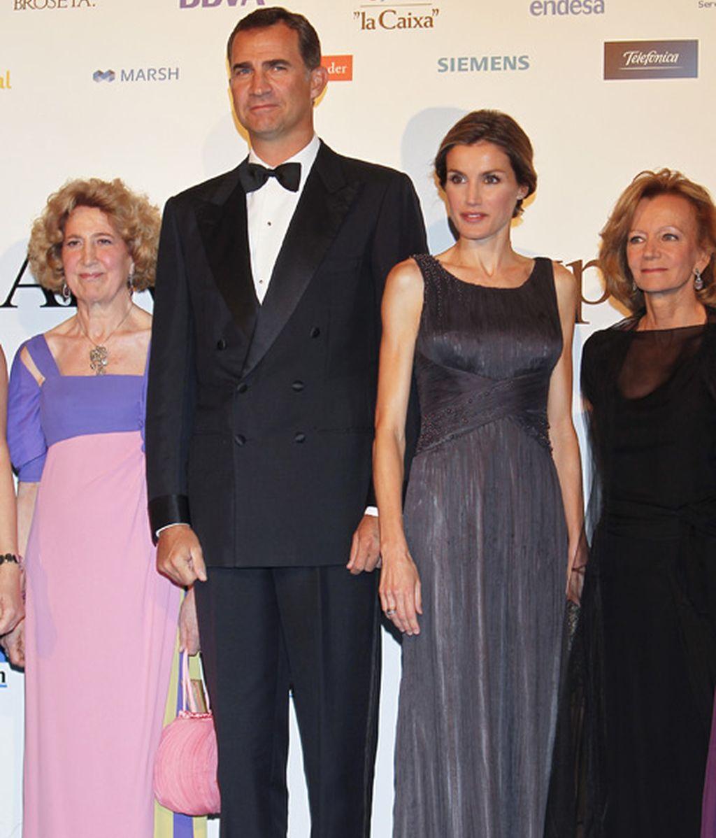 Letizia en la gala de Expansión