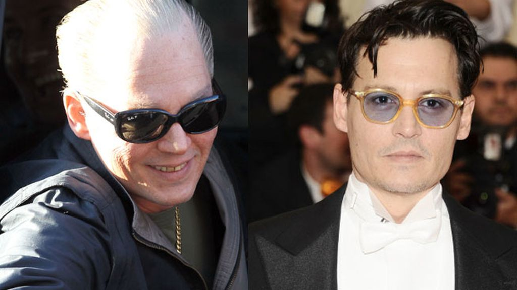 Johnny Deep, irreconocible para su personaje en 'Black Mass'