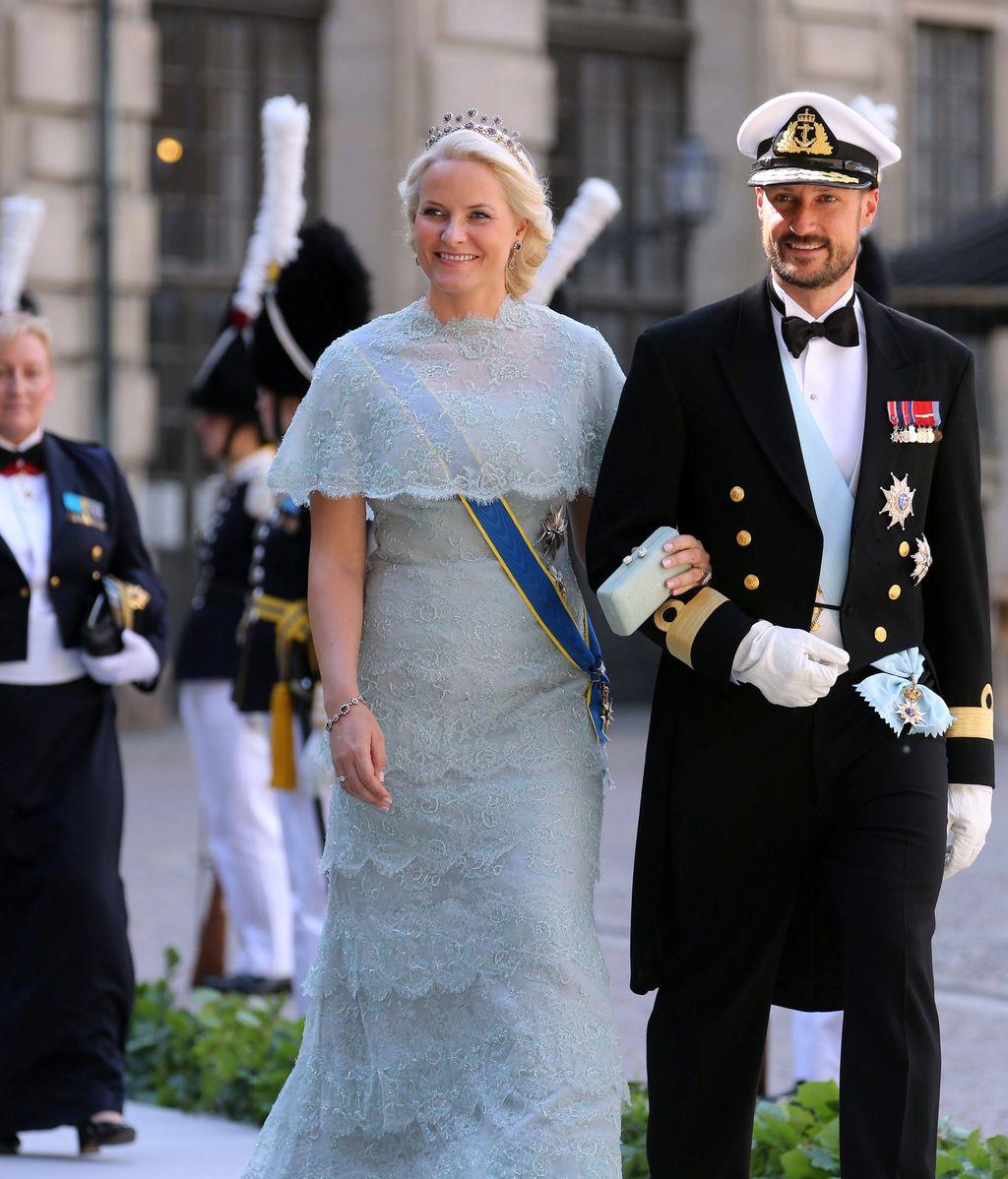 Mette-Marit de Noruega y el Príncipe Haakon