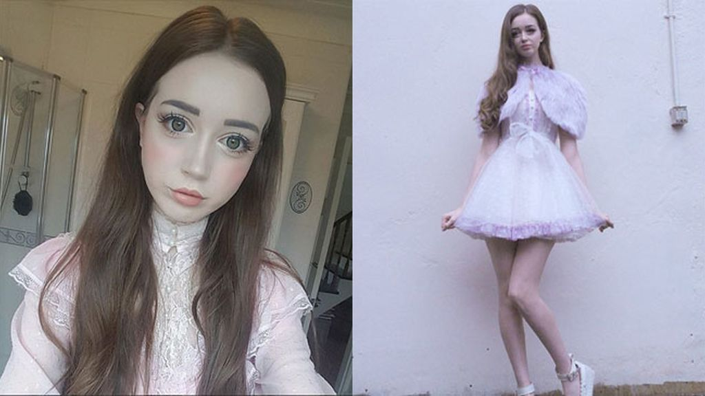 Hannah Gregory, una barbie humana