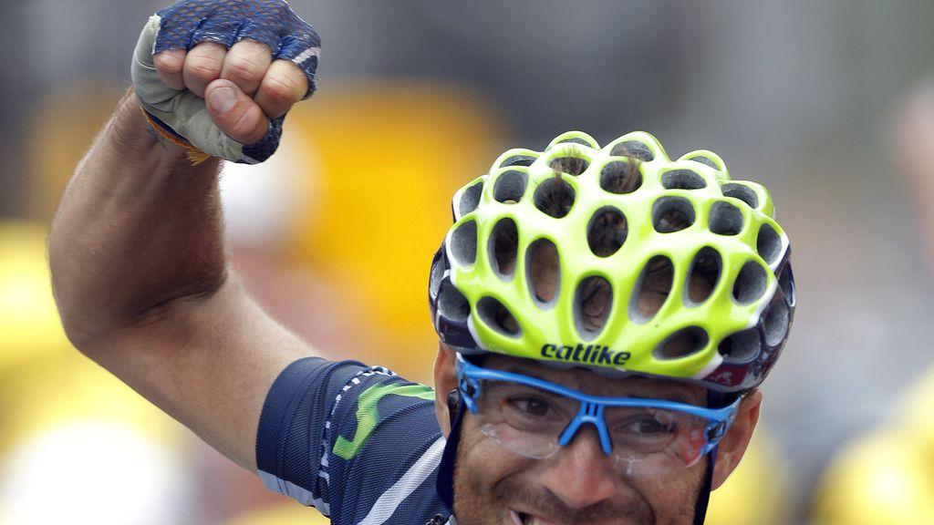 Valverde se impone en la decimoséptima etapa