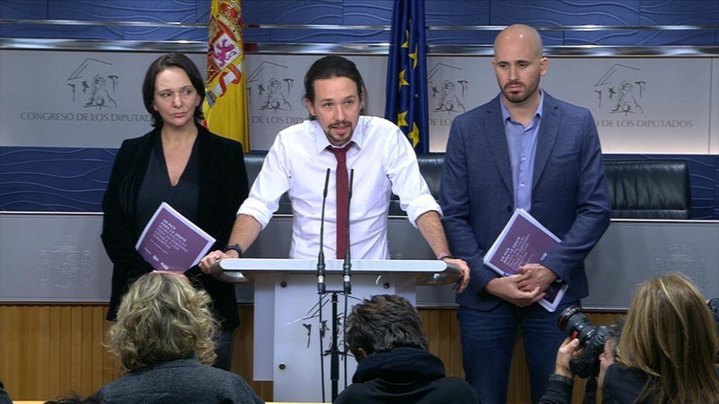 Pablo Iglesias presenta su programa de Gobierno