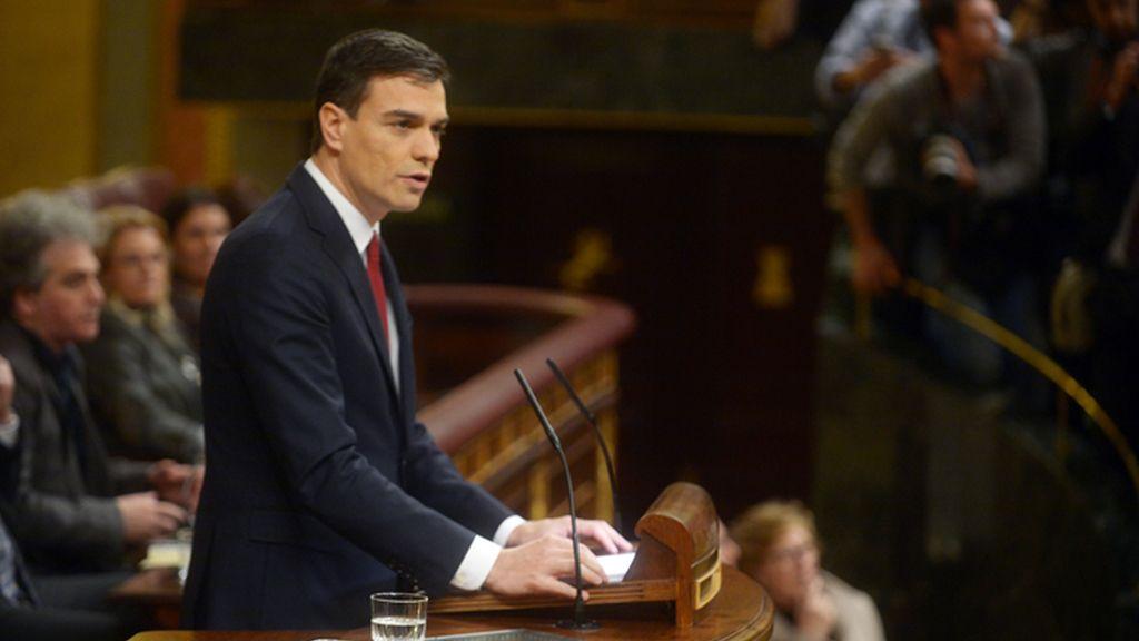 Debate de investidura de Pedro Sánchez