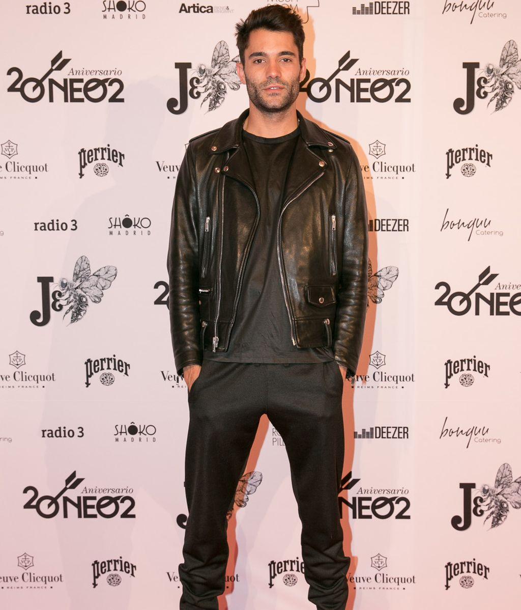 El modelo Marcos Llorente fue otro de los asistentes