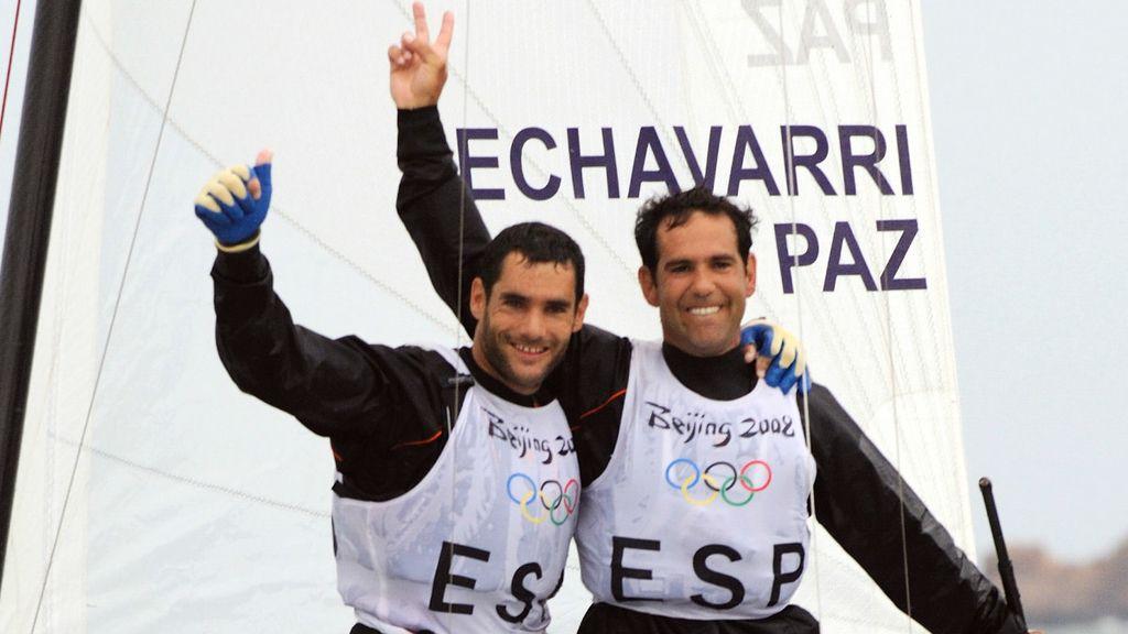 Pekín 2008: Fernando Echavarri y Antón Paz - Vela