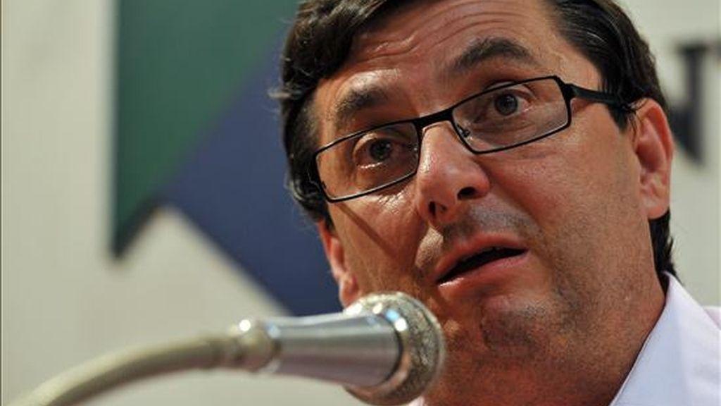 El secretario general del Partido Comunista de España (PCE), José Luis Centella. EFE/Archivo