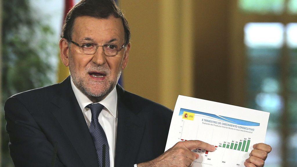 Mariano Rajoy hace balance del curso político y analiza los Presupuestos Generales