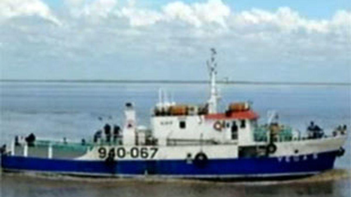 Imagen del buque supuestamente secuestrado, el Vega 5