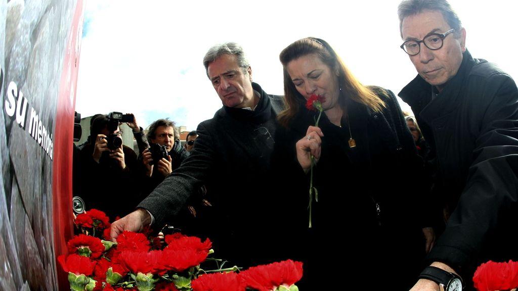 Homenaje a las víctimas del 11-M de la Asociación 11M Víctimas del Terrorismo