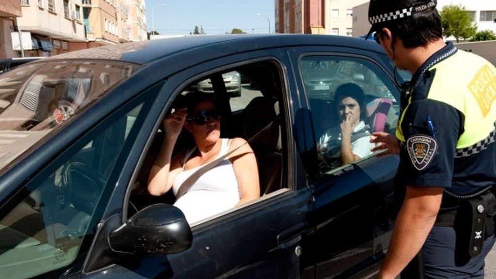 Campaña policial de uso del cinturón de seguridad